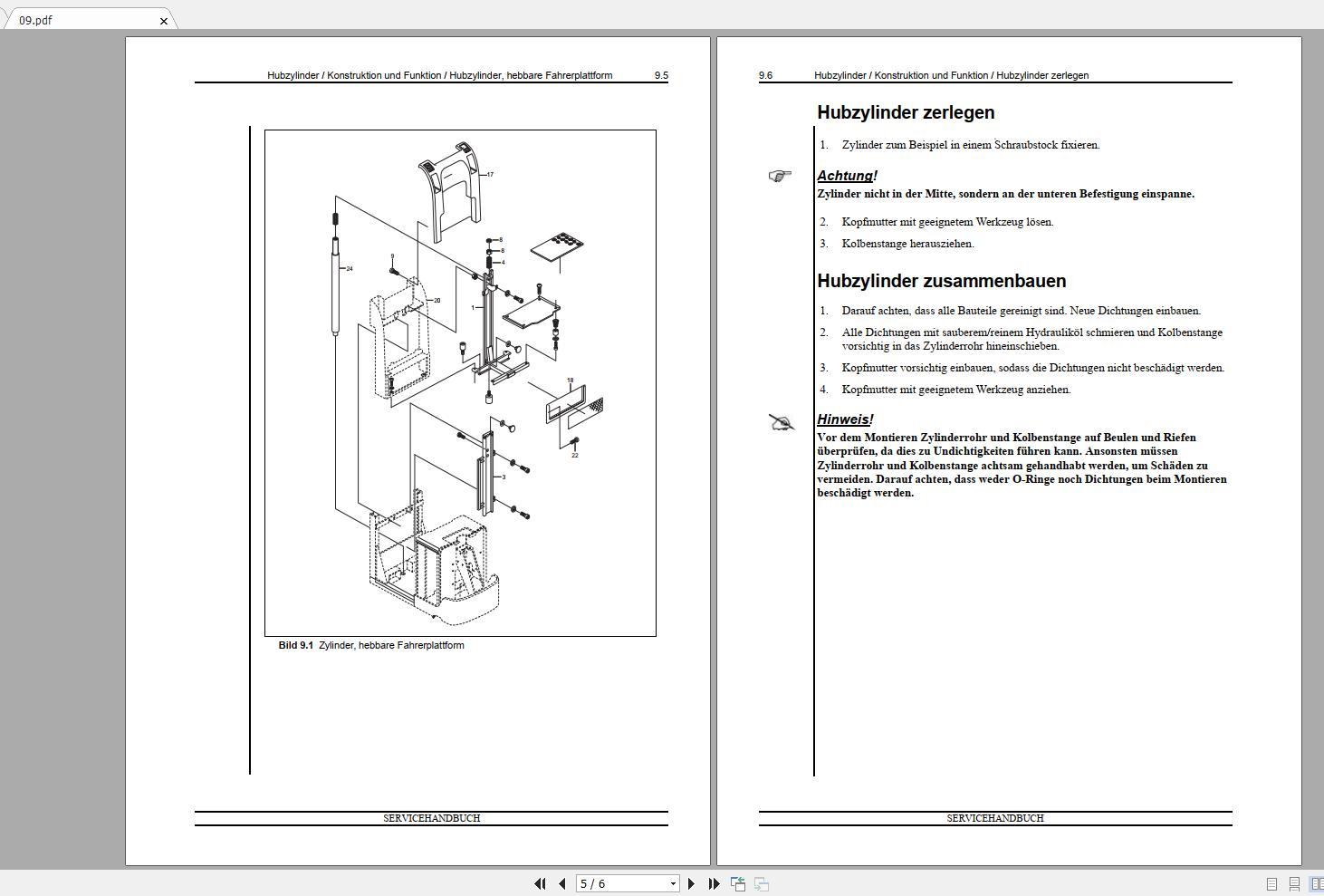 Nissan_Forklift_Warehouse_PP_Series_119036-119037_Service_ManualENDE_5