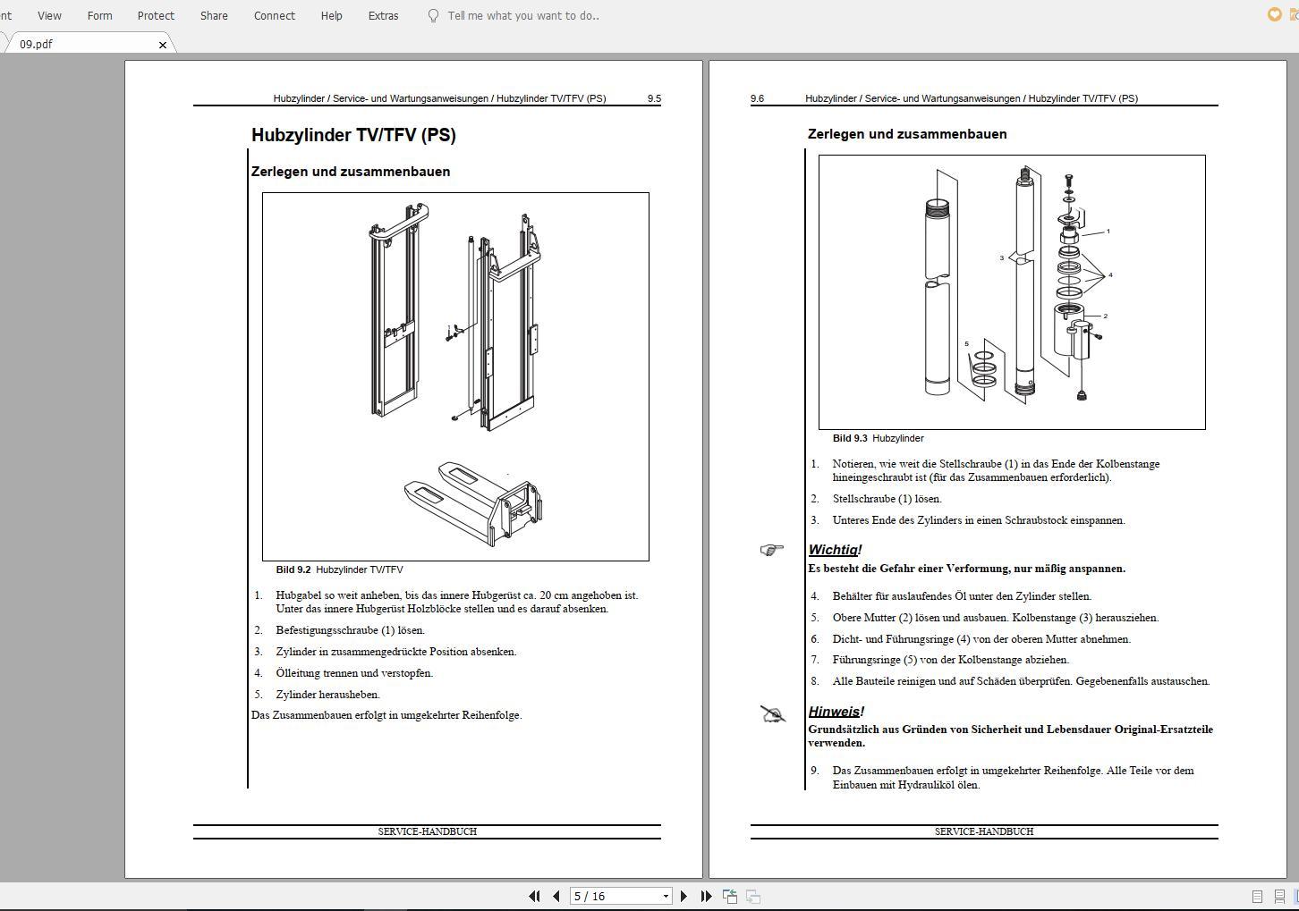 Nissan_Forklift_Warehouse_PS_119029-119030_Service_ManualENDE_4