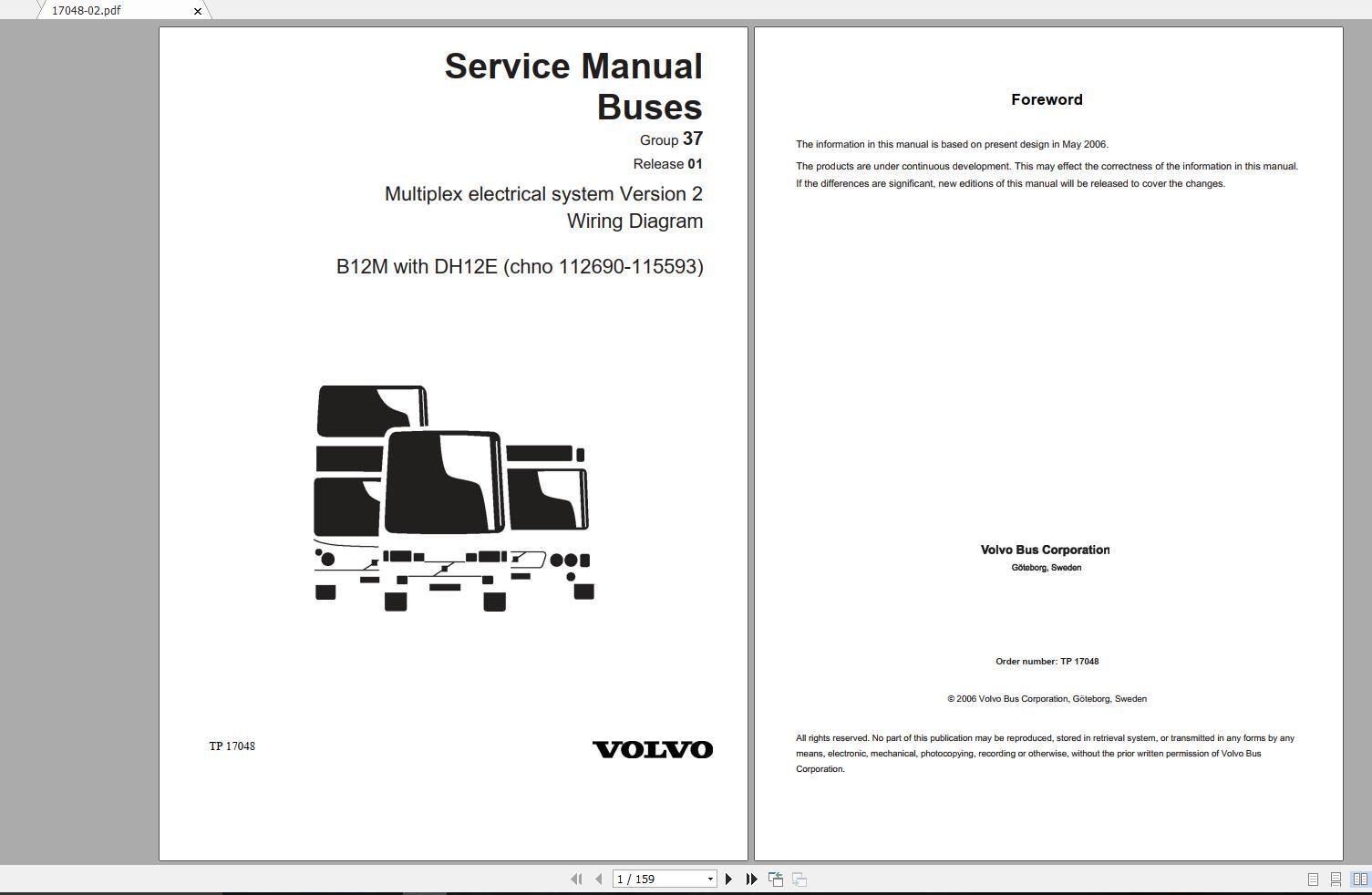 volvo b12m trucks service manual buses & wiring diagrams - auto repair  software-auto epc software-auto repair manual-workshop manual-service  manual-workshop manual  auto repair software-auto epc software-auto repair manual