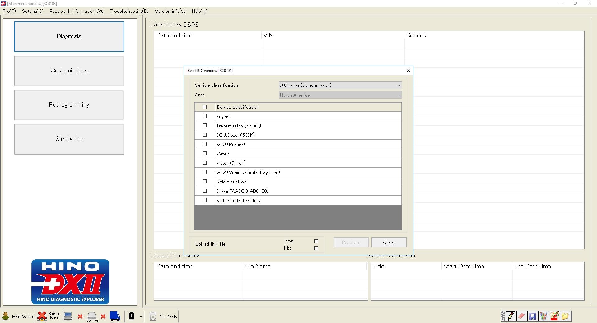 HINO_Diagnostic_eXplorer_DX2_11207_072020_Diagnostic_Software_4