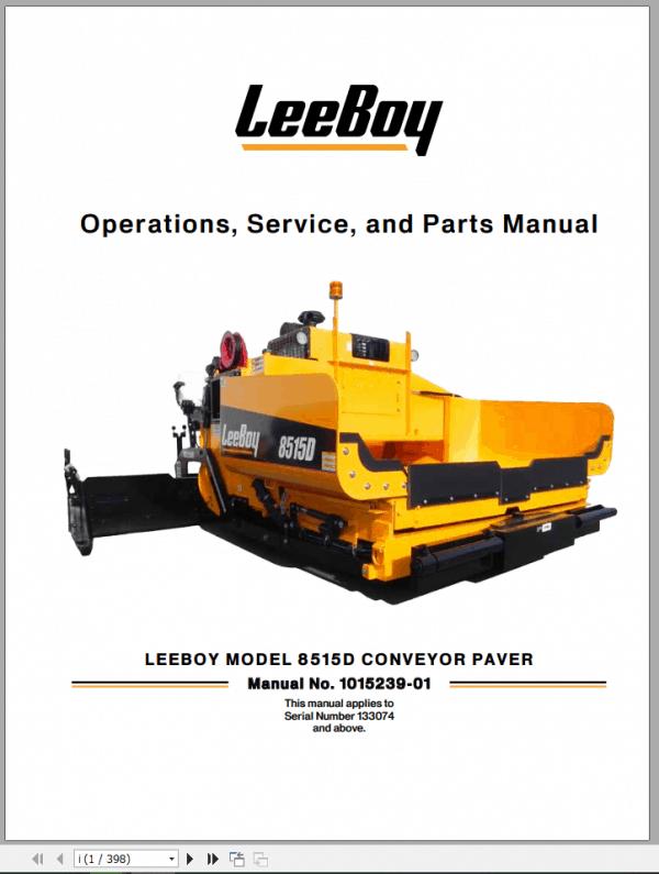 LeeBoy_1000D_Asphalt_Paver_Manual_1
