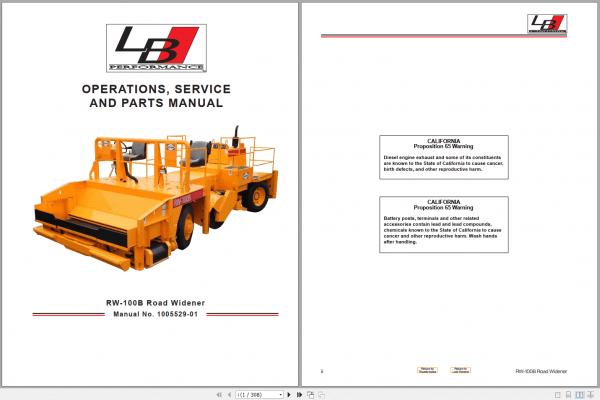 LeeBoy_1000D_Asphalt_Paver_Manual_11