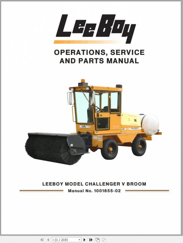 LeeBoy_1000D_Asphalt_Paver_Manual_3