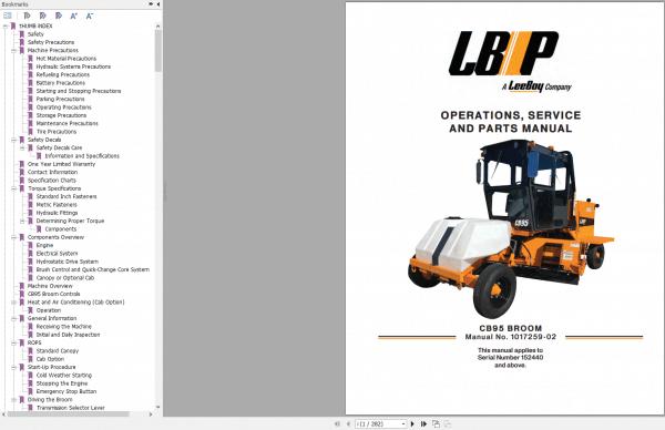 LeeBoy_1000D_Asphalt_Paver_Manual_5