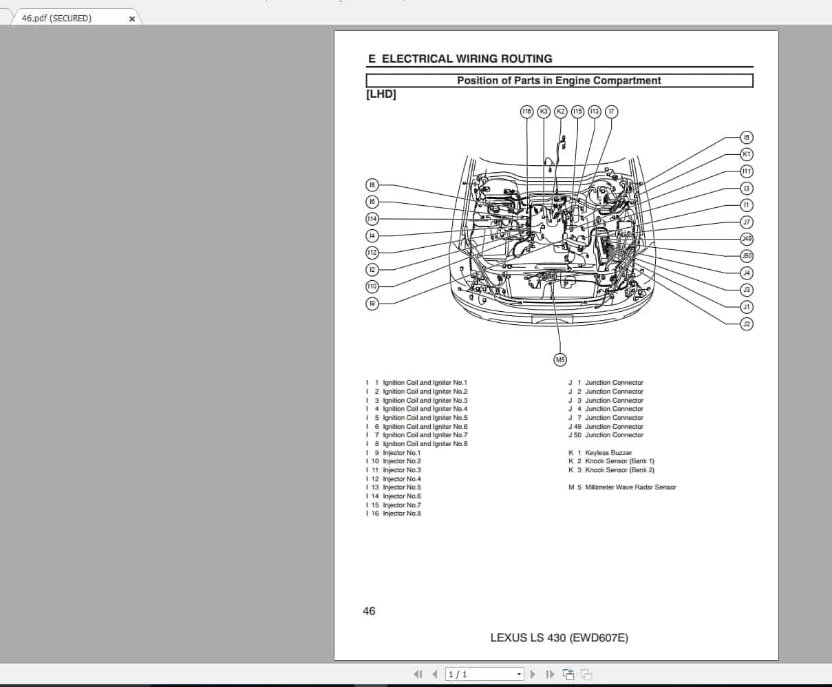 Lexus Ls430  2004-2006  Workshop Service Manual