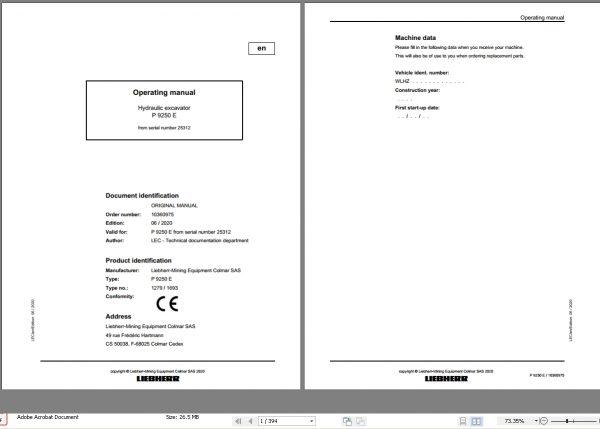 Liebherr_Mining_Excavator_Updated_062020_Operating_Manual_PDF_2