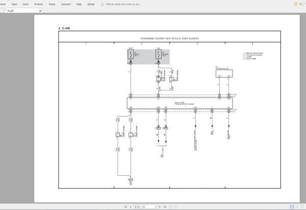 Toyota C-hr  2018 05  Electrical Wiring Diagram