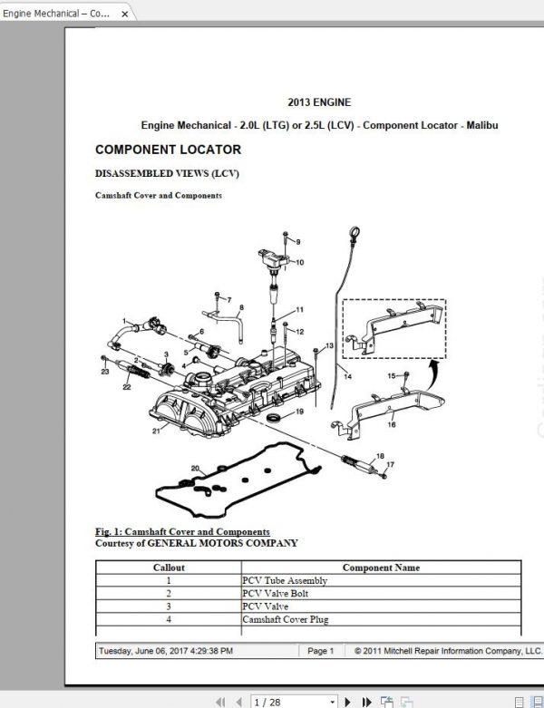 2001 Chevy Malibu Wiring Diagram Manual Guide