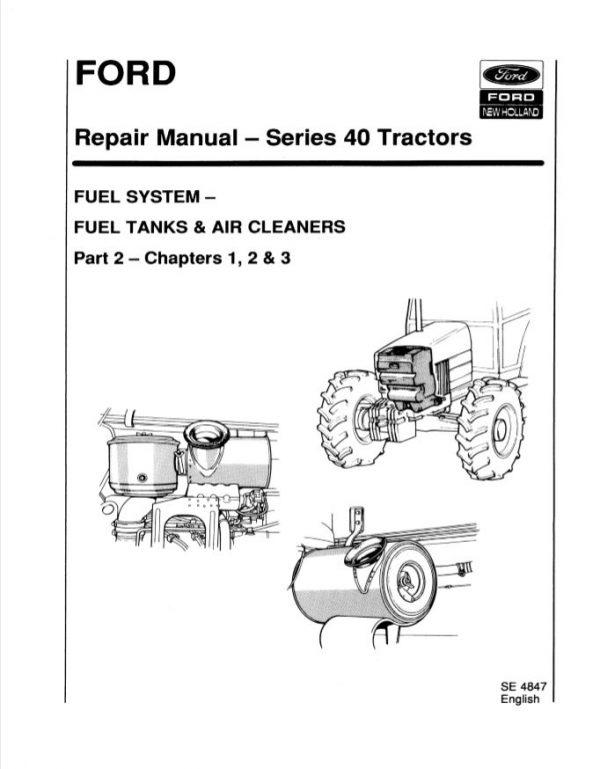 New Holland Tractor Series 40 Repair Manual