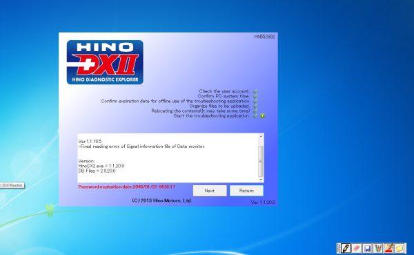 HINO_Diagnostic_eXplorer_DX2_11208_082020_Diagnostic_Software_1