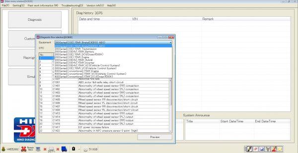 HINO_Diagnostic_eXplorer_DX2_11208_082020_Diagnostic_Software_11