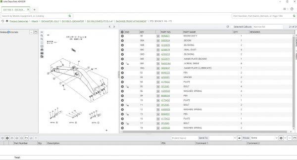 Hitachi-EPC-Spare-Parts-Catalog-2021-01.2021-Offline-DVD-Parts-ADVISOR-4