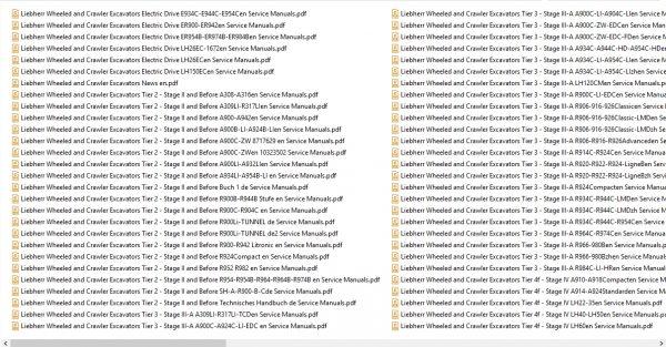 Liebherr_Wheeled_and_Crawler_Excavators_Updated_102020_Full_Service_Manuals_DVD_6
