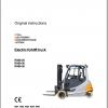 STILL_STED_Forklift_Updated_2020_User_Manual_Part_Catalog_Full_DVD_2