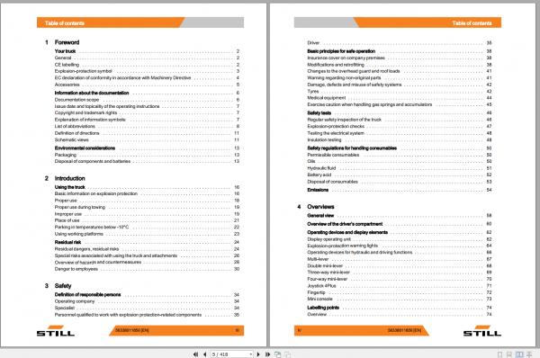 STILL_STED_Forklift_Updated_2020_User_Manual_Part_Catalog_Full_DVD_4