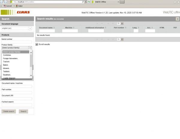 CLAAS_WebTIC_Offline_112020_Operator_Manual_Repair_Manual_and_Service_Documentation_2