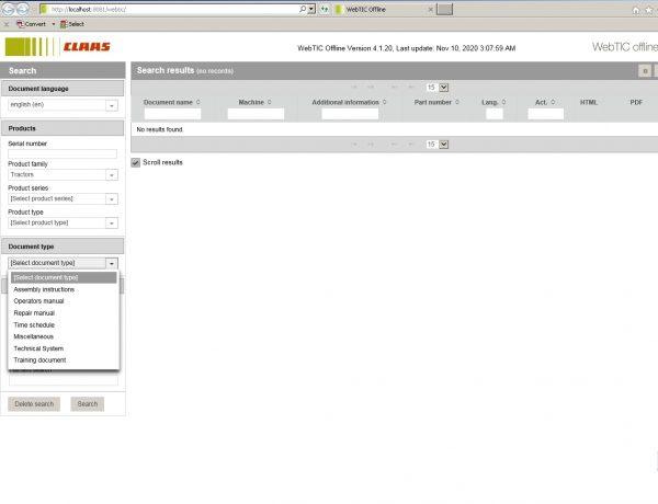 CLAAS_WebTIC_Offline_112020_Operator_Manual_Repair_Manual_and_Service_Documentation_3