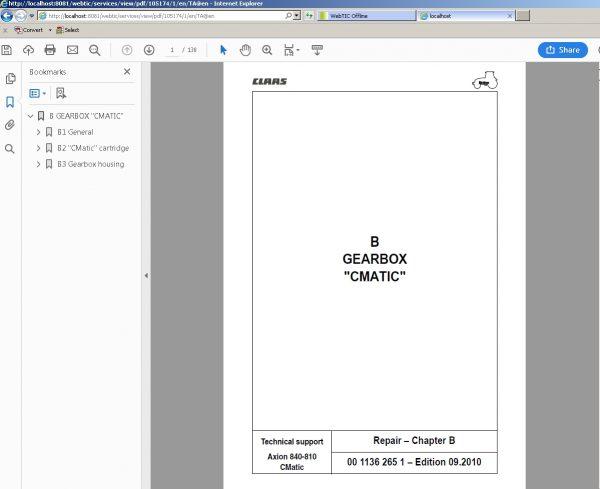 CLAAS_WebTIC_Offline_112020_Operator_Manual_Repair_Manual_and_Service_Documentation_5