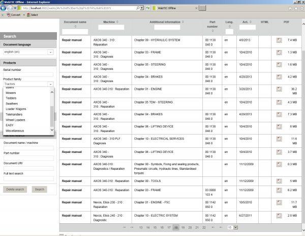 CLAAS_WebTIC_Offline_112020_Operator_Manual_Repair_Manual_and_Service_Documentation_7