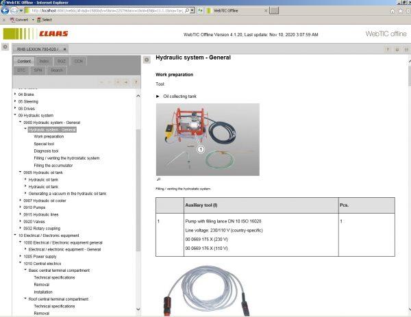 CLAAS_WebTIC_Offline_112020_Operator_Manual_Repair_Manual_and_Service_Documentation_9