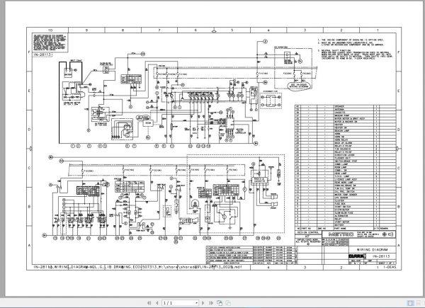 ClarkForkliftPDF2020ServiceManualMaintenanceSchematicandServiceBulletins15a7vz