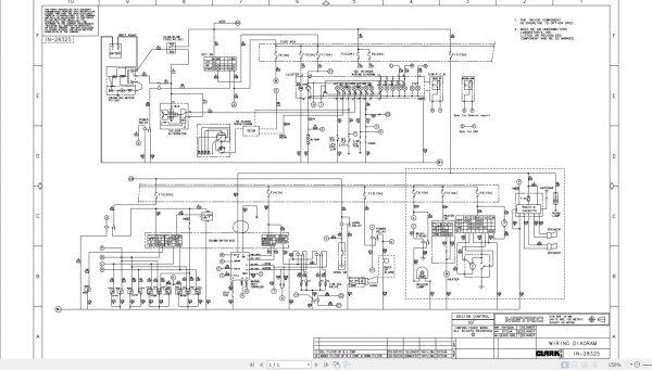 ClarkForkliftPDF2020ServiceManualMaintenanceSchematicandServiceBulletins16Sr8M