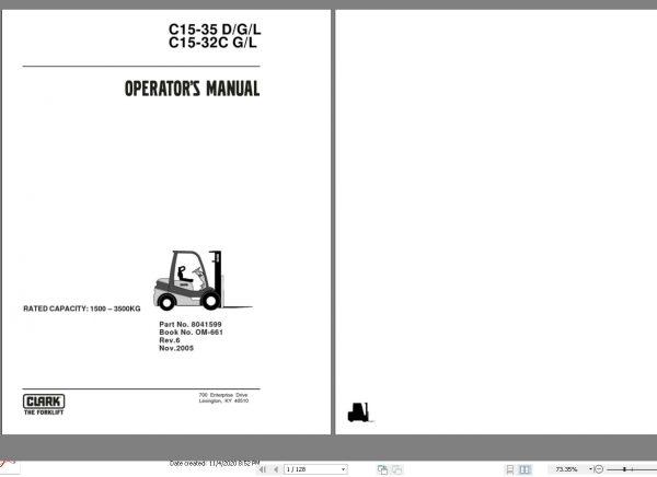 Clark_Forklift_All_Models_112020_Operators_Manuals_357GB_PDF_2
