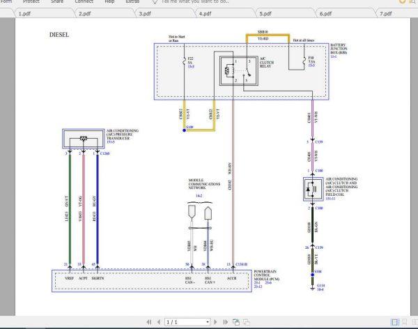 Ford Ecosport 2020 Electrical Wiring, Camper Wiring Diagram Manual
