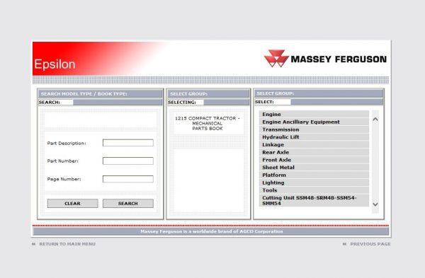 MasseyFergusonAGEuropePartsCatalogWorkshopServiceManuals202010