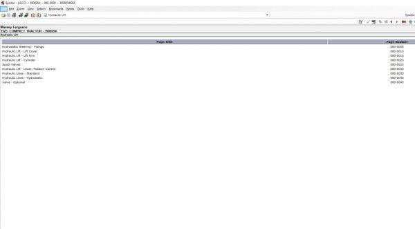 MasseyFergusonAGEuropePartsCatalogWorkshopServiceManuals202011