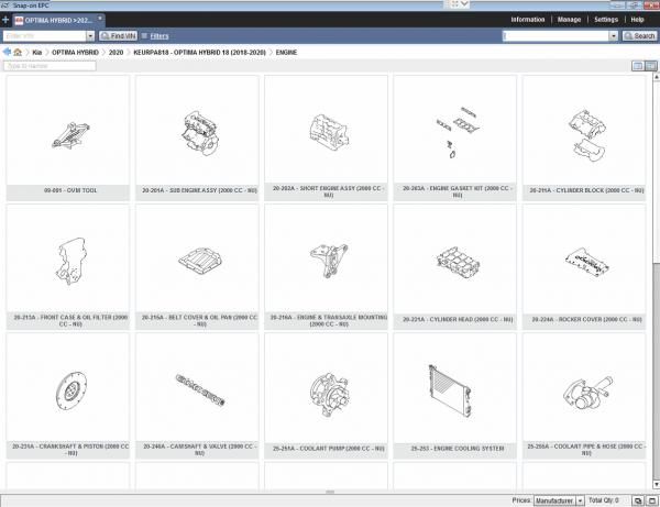 KIA_GLOBAL_Snap_On_EPC_062020_Spare_Parts_Catalog_7