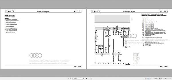 Audi Q7 2007 Wiring Diagram - Auto Repair Software-Auto EPC Software-Auto  Repair Manual-Workshop Manual-Service Manual-Workshop ManualAuto Repair Software-Auto EPC Software-Auto Repair Manual