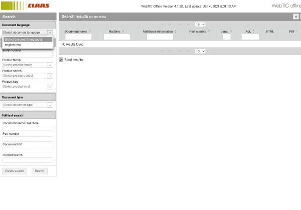 CLAAS-WebTIC-Offline-01.2021-Operator-Manual–Repair-Manual-and-Service-Documentation-1