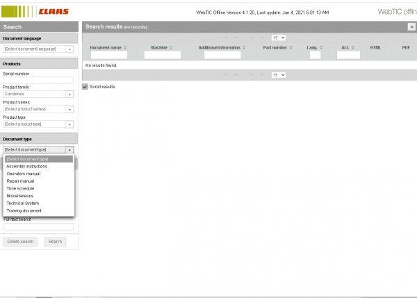 CLAAS-WebTIC-Offline-01.2021-Operator-Manual–Repair-Manual-and-Service-Documentation-3