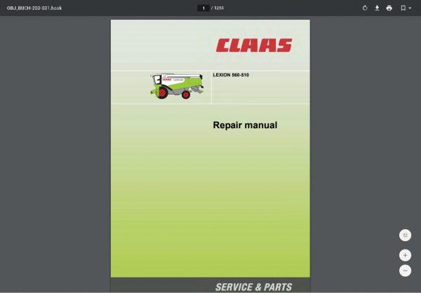 CLAAS-WebTIC-Offline-01.2021-Operator-Manual–Repair-Manual-and-Service-Documentation-5