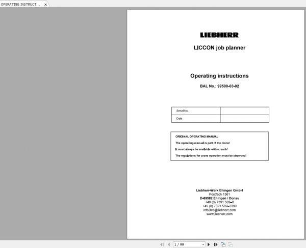 Liebherr-Crawler-Crane-LR1600-2-LR1600-2W-600-Ton-Shop-Manual-3