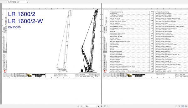 Liebherr-Crawler-Crane-LR1600-600-Ton-Electrical–Hydraulic-Diagram-1