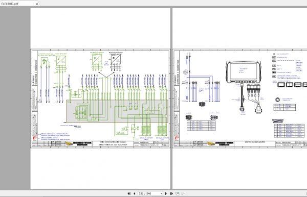 Liebherr-Crawler-Crane-LR1600-600-Ton-Electrical–Hydraulic-Diagram-4