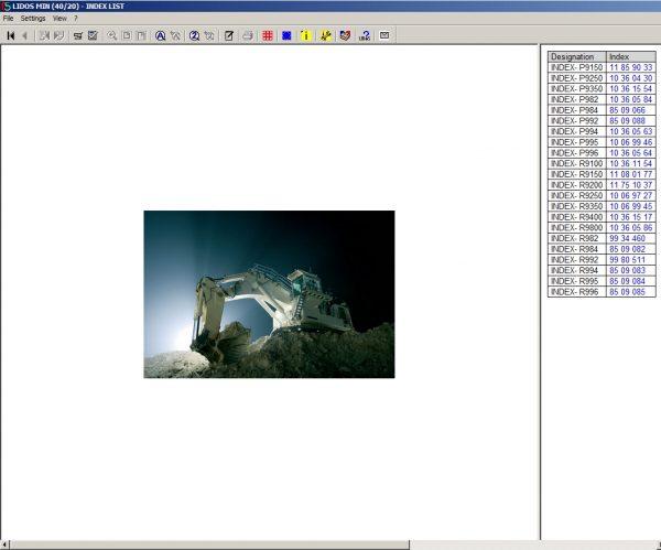 Liebherr_Lidos_EN_Mining_Truck_Excavator_102020_Service_Documentation_Offline_DVD_1