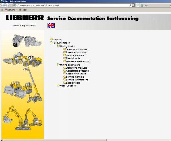 Liebherr_Lidos_EN_Mining_Truck_Excavator_102020_Service_Documentation_Offline_DVD_5