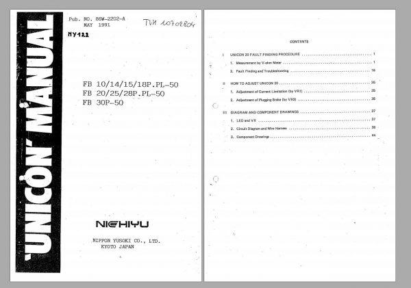 Nichiyu-Forklift-1.99GB-PDF-FBFBRHTPLDRBRFTSBW-Spare-Part-Catalogue-Service-Manual-9