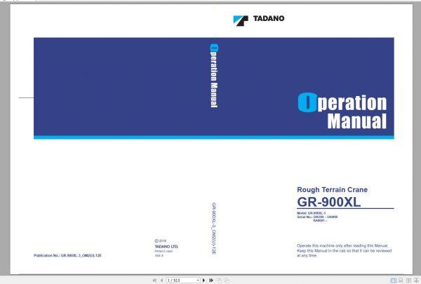 Tadano-Mobile-Crane-2021-DVD-GR-GT-TC-Series-All-Model-Operator–Maintenance-Manual-10
