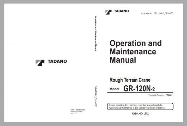 Tadano-Mobile-Crane-2021-DVD-GR-GT-TC-Series-All-Model-Operator–Maintenance-Manual-3