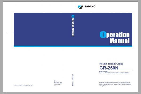 Tadano-Mobile-Crane-2021-DVD-GR-GT-TC-Series-All-Model-Operator–Maintenance-Manual-4