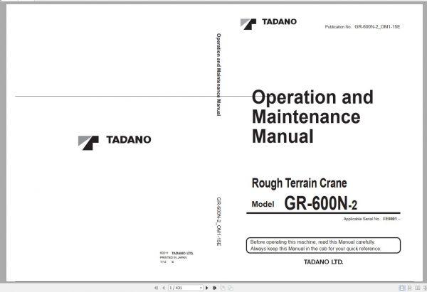 Tadano-Mobile-Crane-2021-DVD-GR-GT-TC-Series-All-Model-Operator–Maintenance-Manual-8