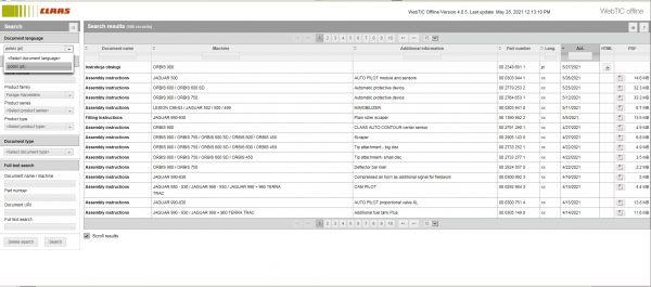 CLAAS-WebTIC-Offline-PL_Polski-06.2021-Operator-Manual–Repair-Manual-and-Service-Documentation-DVD-1