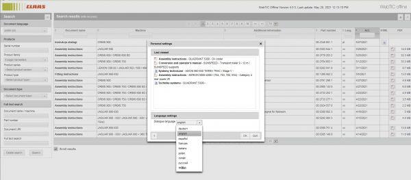 CLAAS-WebTIC-Offline-PL_Polski-06.2021-Operator-Manual–Repair-Manual-and-Service-Documentation-DVD-3