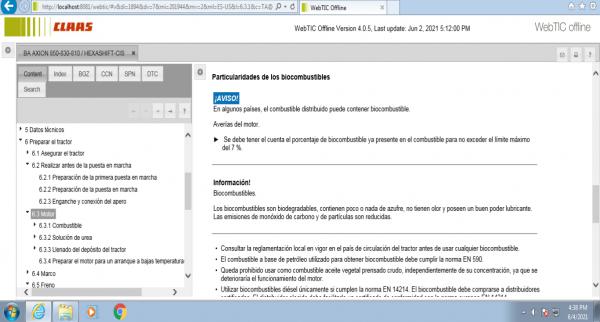 CLAAS-WebTIC-Offline-ES_US-06.2021-Operator-Manual-Repair-Manual–Service-Documentation-DVD-4