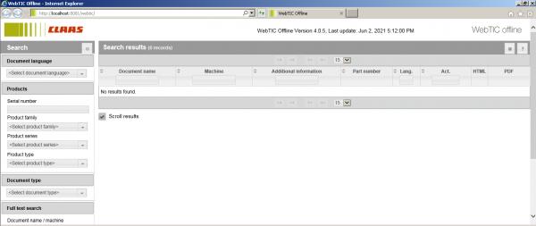 CLAAS-WebTIC-Offline-Espanol_ES-06.2021-Operator-Manual-Repair-Manual–Service-Documentation-DVD-1