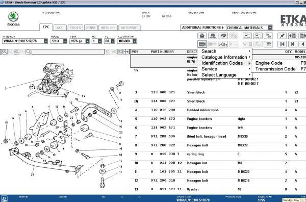 ETKA-8.2-Volkswagen—Seat—Skoda—Audi—Commercial-Vehicles-04.2021-Spare-Parts-Catalog-DVD-13
